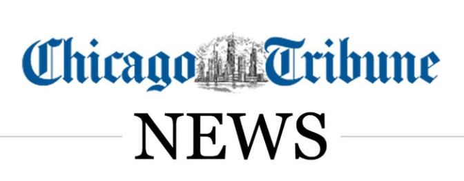 Interviewed in Chicago Tribune