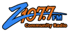 KCDZ 107.7 FM Joshua Tree Logo